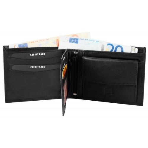 Moška denarnica Akzent Form Črna