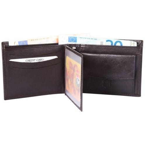 Moška denarnica Akzent Form Rjava