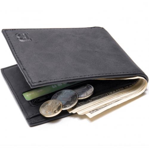 Moška denarnica Baborry črna