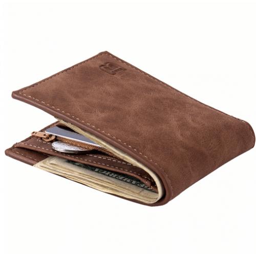 Moška denarnica Baborry rjava