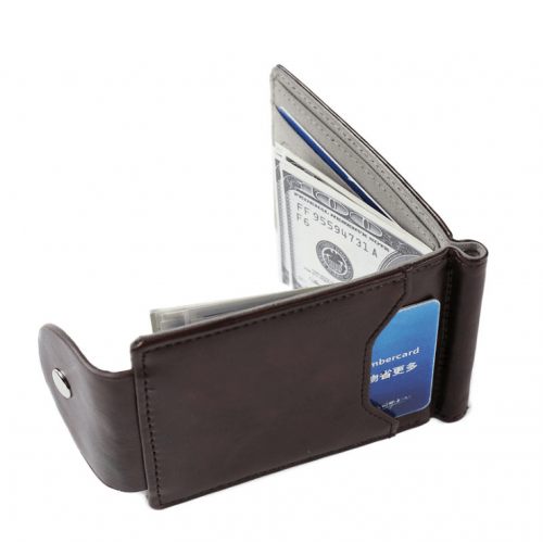 Moška denarnica Business Rjava