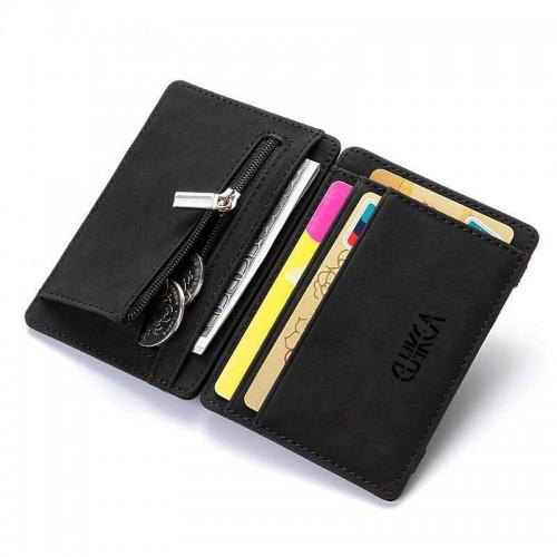 Moška denarnica CUIKCA flip črna