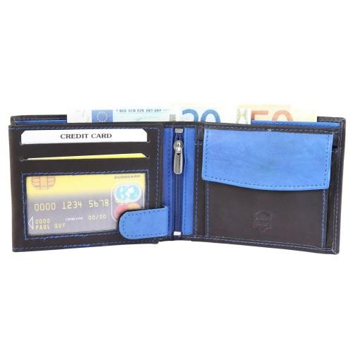 Moška denarnica Excellanc Gang modra