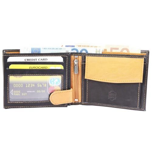 Moška denarnica Excellanc Gang svetlo rjava