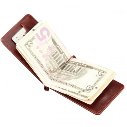 Moška denarnica Minimal Rjava