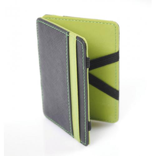 Moška denarnica SlimFlip Zelena
