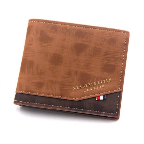 Moška denarnica MenBense Classic Rjava